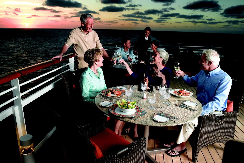 Terrace Cafe Oceania Cruises Croisière